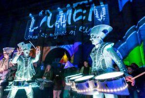 Drummers at Lumen