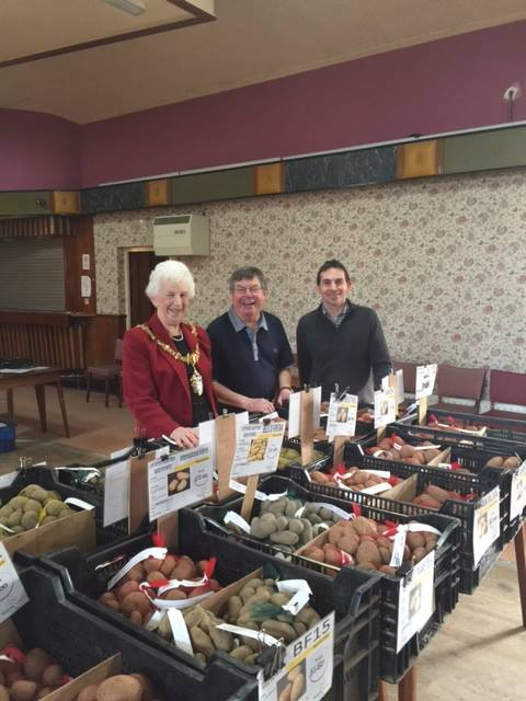 Crewe Town Allotment Federation Potato and Seed Day