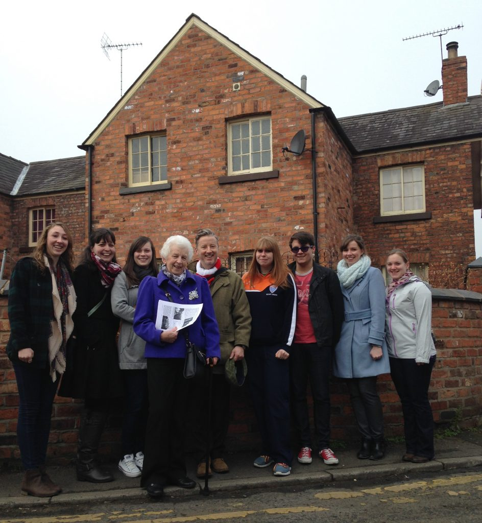 MMU students take part on the first Town Trail