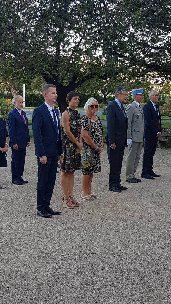 Crewe Town Marks Liberation Day in Macon