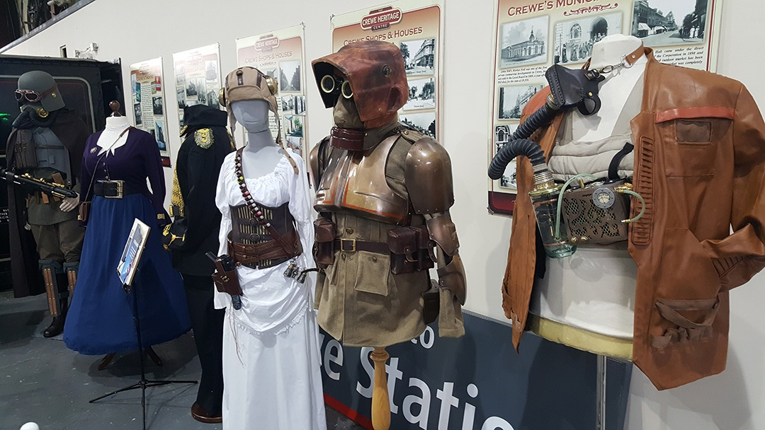 Costume exhibition at Heritage Centre photo ERigby 1