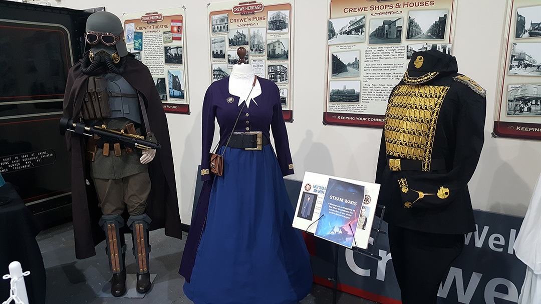 Costume exhibition at Heritage Centre photo ERigby 2