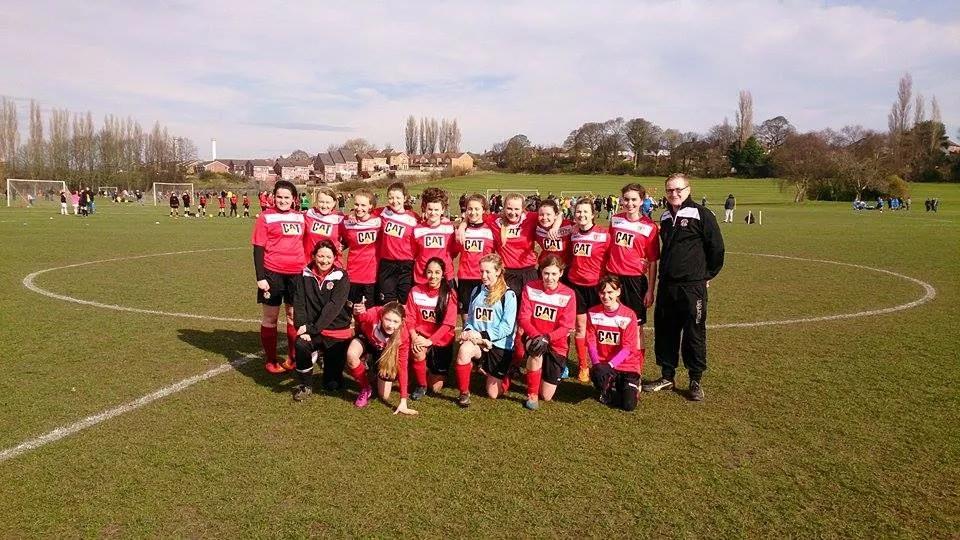 Supporting Crewe Alex Ladies FC