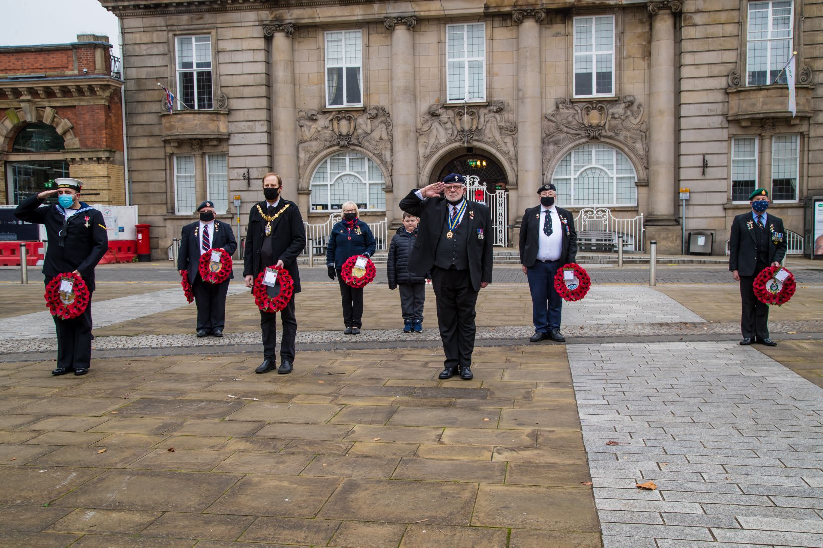 Crewe Remembrance Day 2020 11
