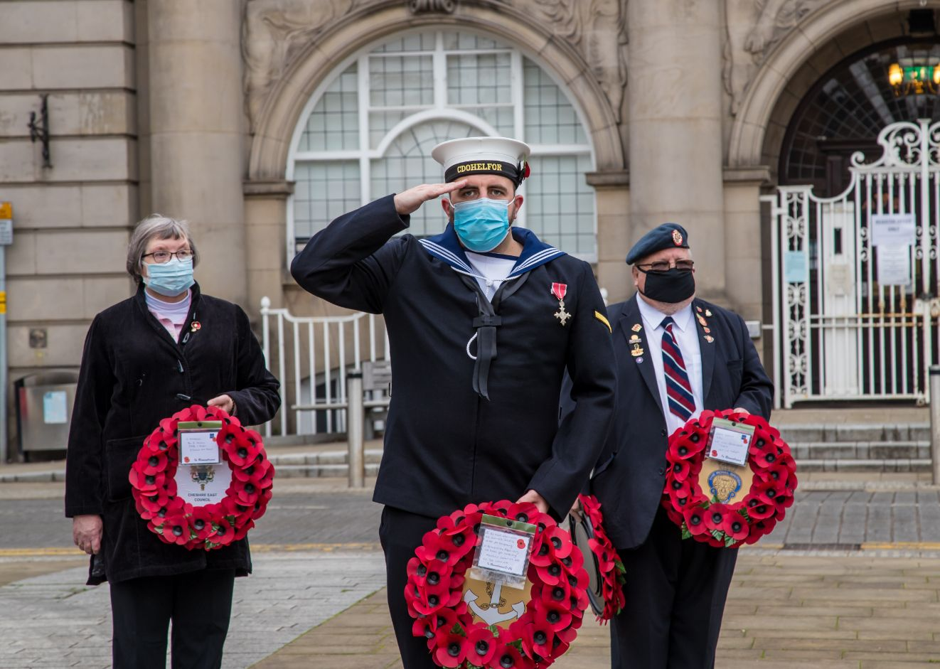 Crewe Remembrance Day 2020 12