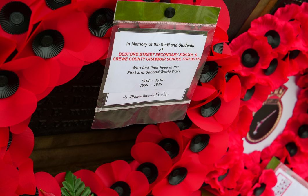 Crewe Remembrance Day 2020 2 13