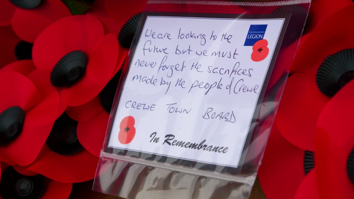 Crewe Remembrance Day 2020 2 19