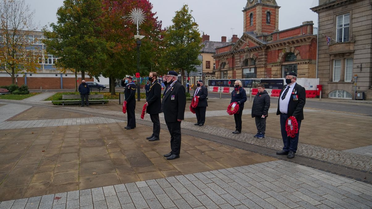 Crewe Remembrance Day 2020 2 2