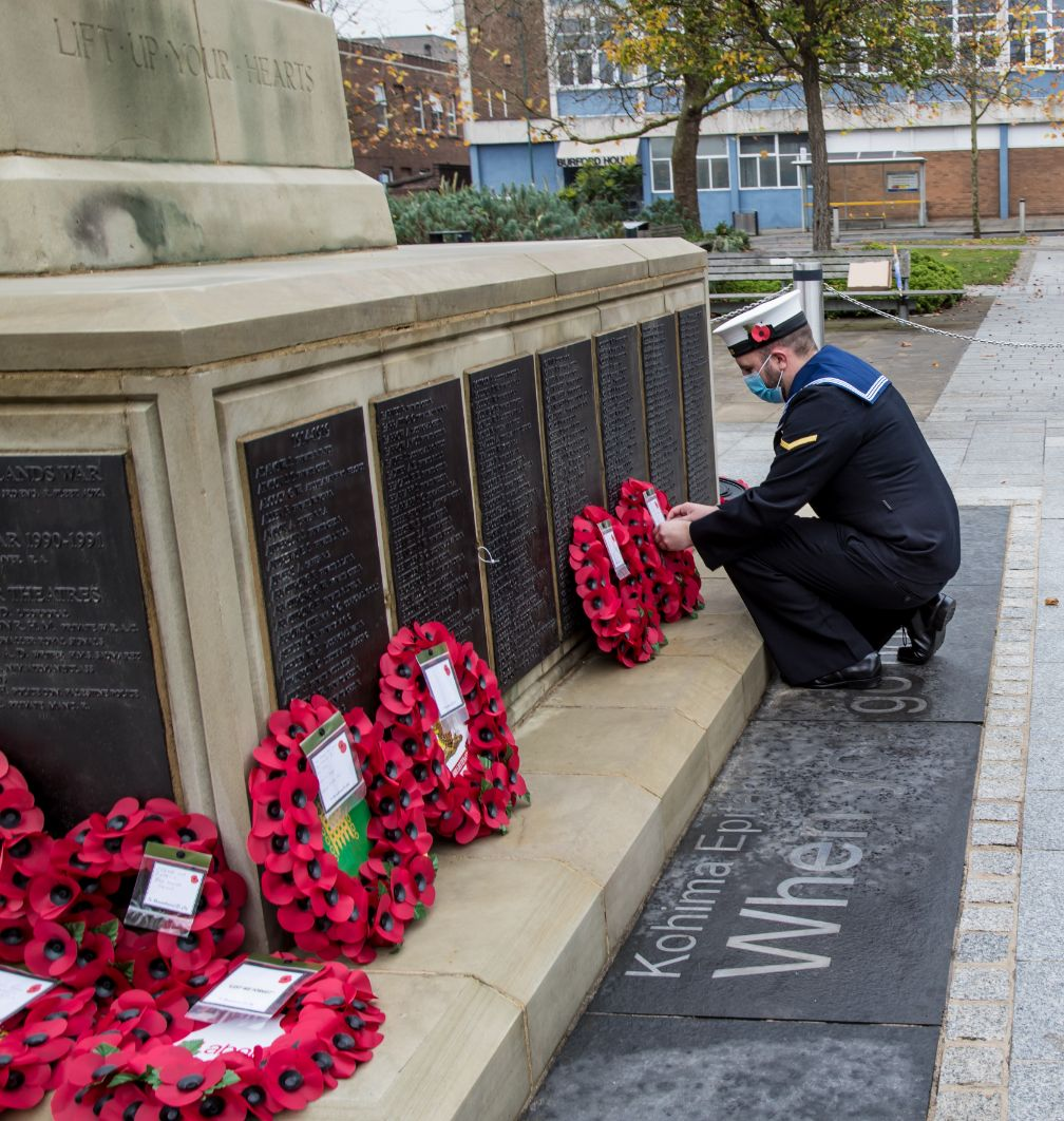 Crewe Remembrance Day 2020 21