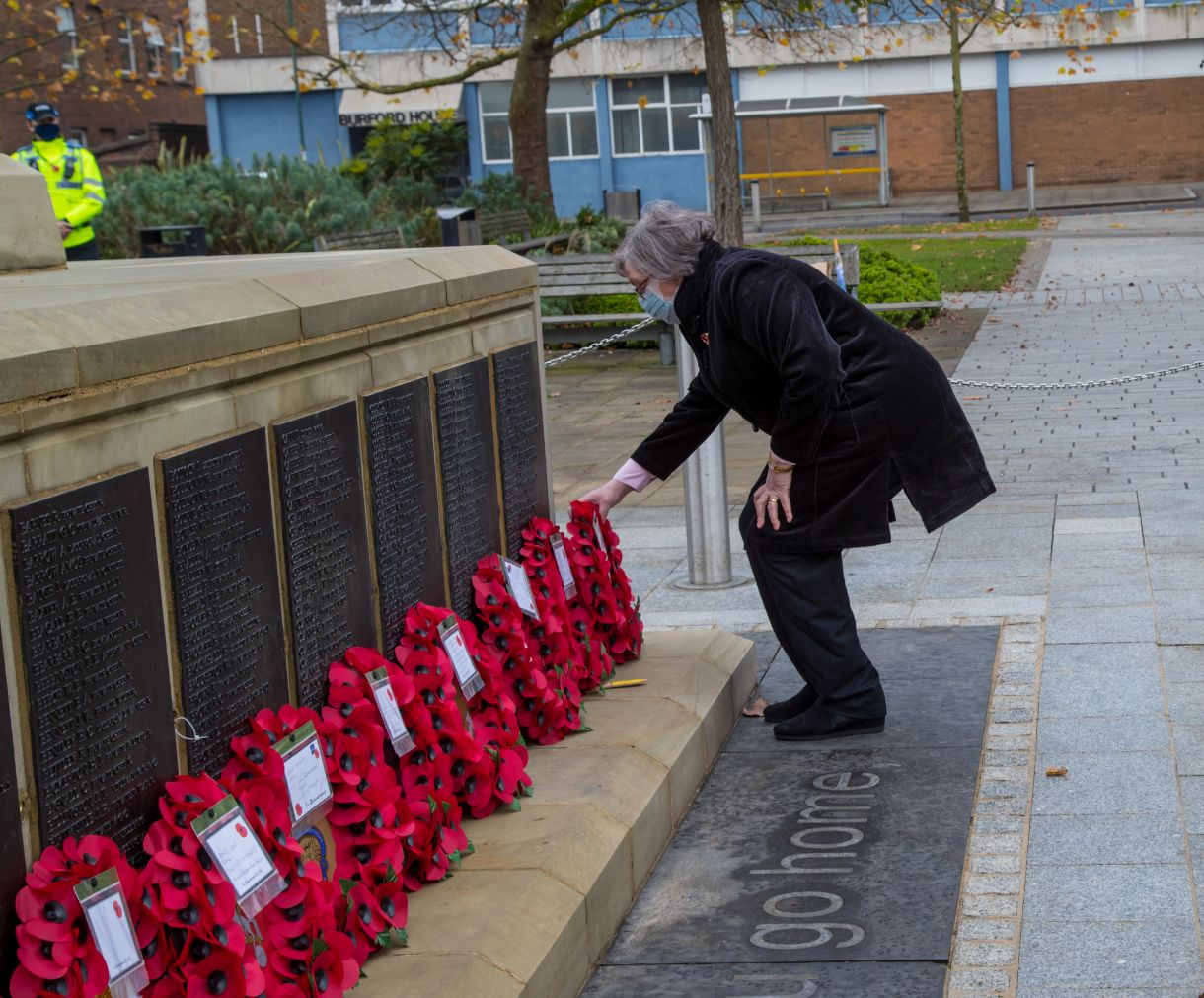 Crewe Remembrance Day 2020 31