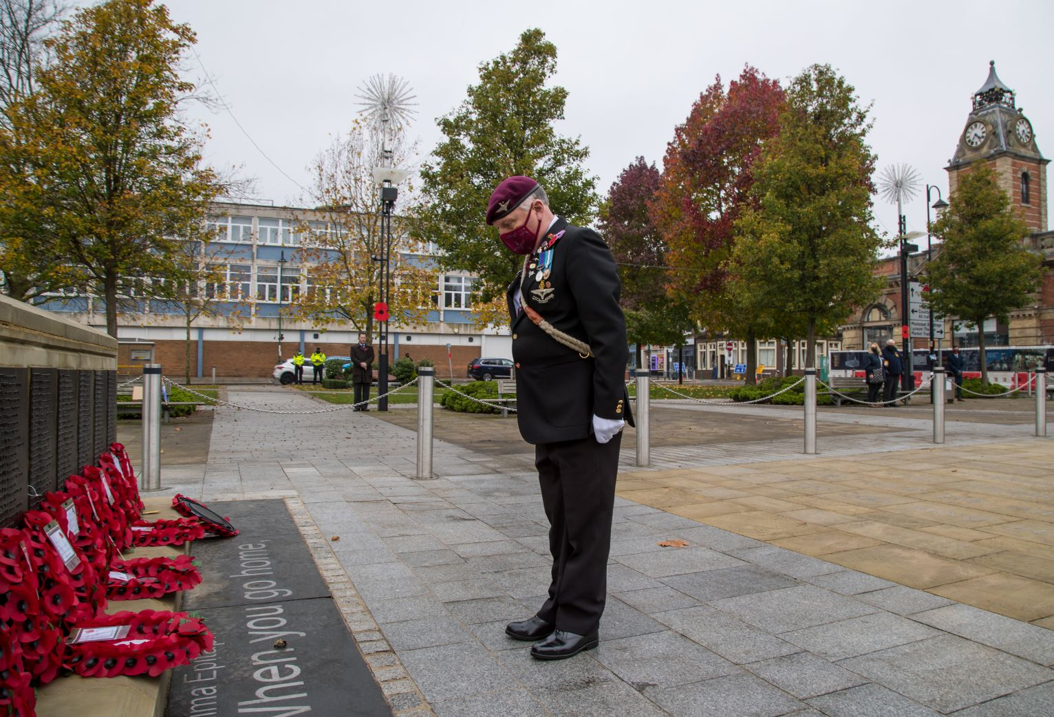 Crewe Remembrance Day 2020 37