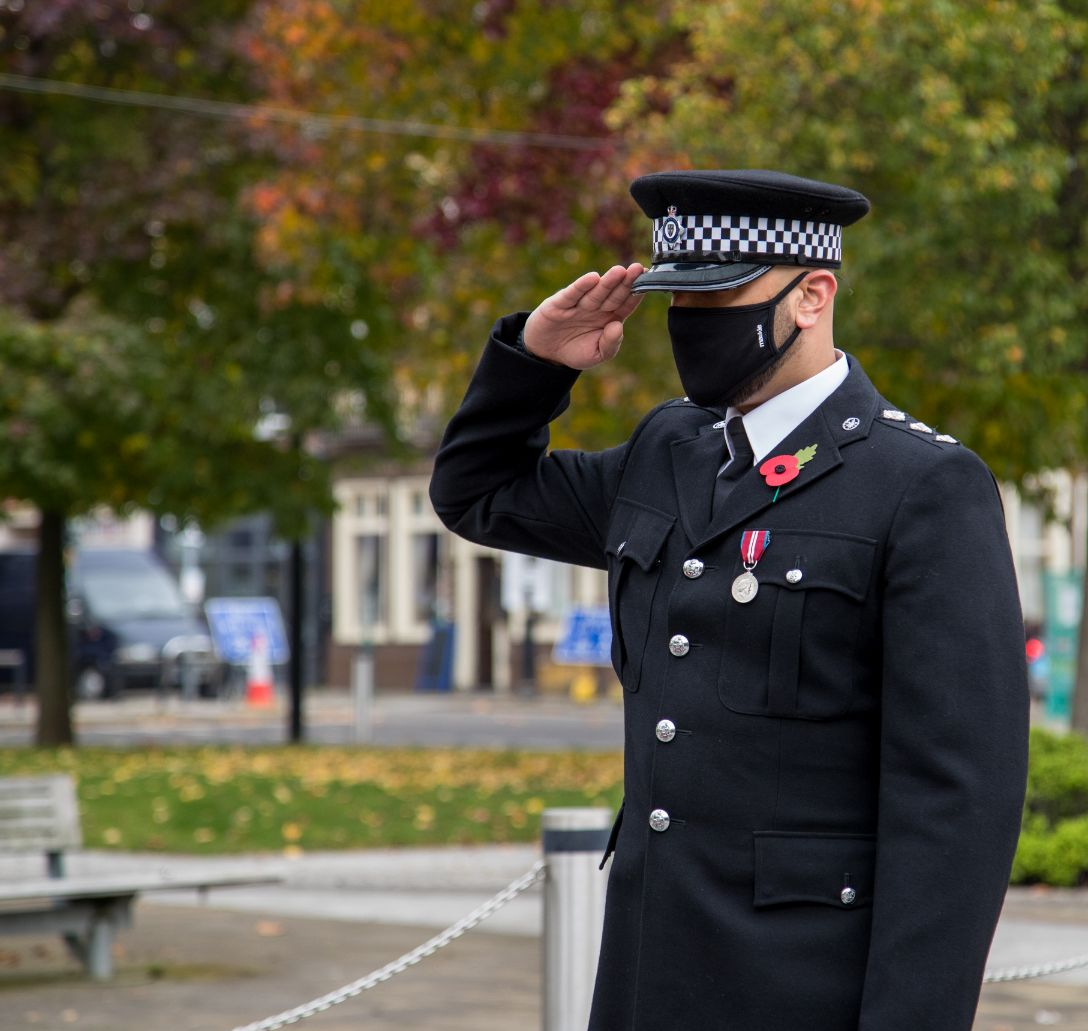 Crewe Remembrance Day 2020 84