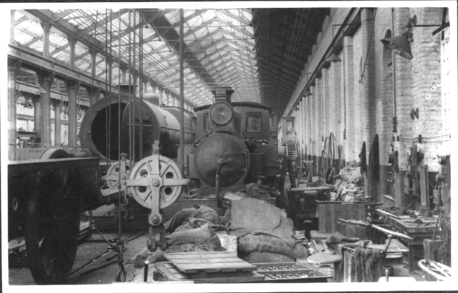 Crewe Works 1931