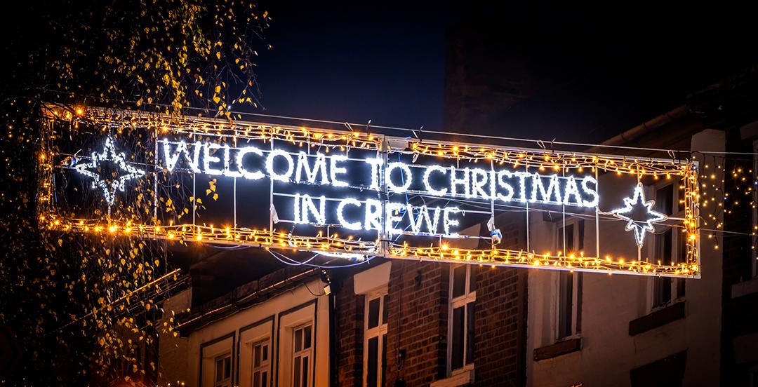 Crewe Xmas lights photo Pete Robinson 8