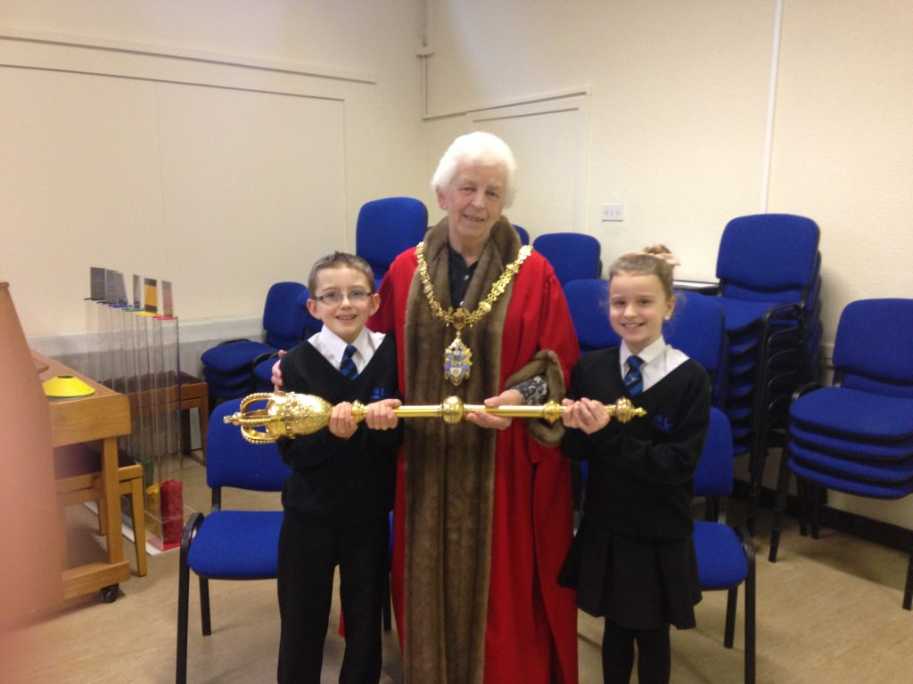 Assembly at Leighton Academy