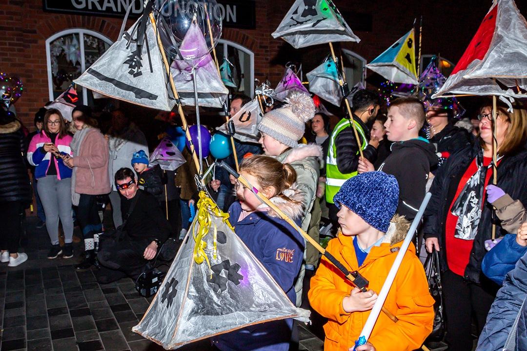 Lumen 2018 lantern parade