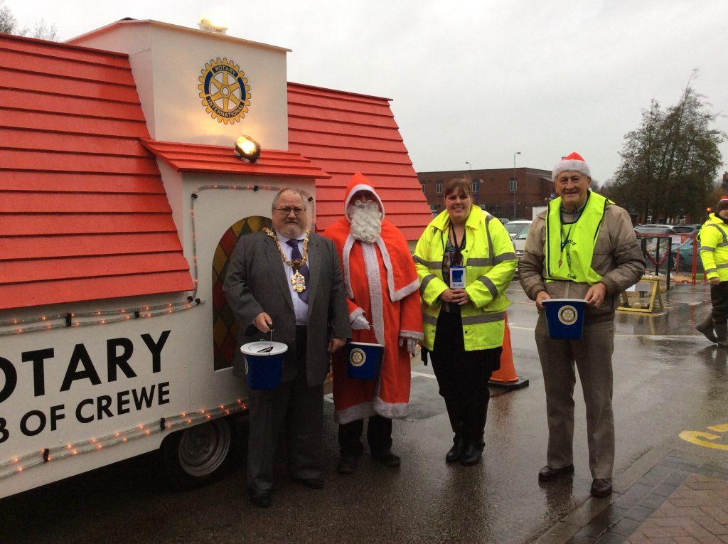 12th December - Rotary Santa Float