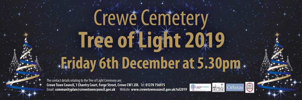 Crewe Tree of Light Ceremony 2019