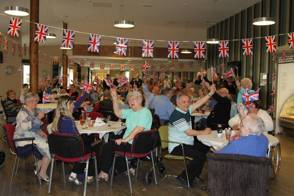 VE Day Celebrations at Pickmere Court
