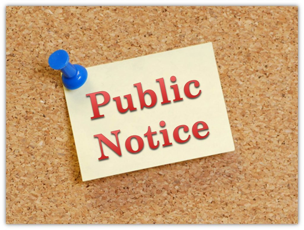 Notice of Public Rights and Publication of Unaudited Annual Governance and  Accountability Return Accounts for the Financial Year Ended 31st March 2020